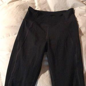 Black leggings small